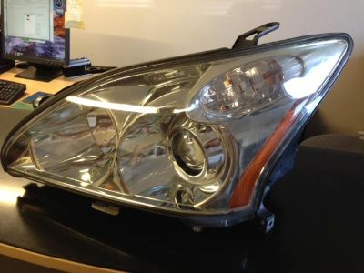 Purchase 04 05 06 07 08 Lexus RX330 RX350 RX400 Left Driver Headlight Headlamp HID Xenon motorcycle in Justice, Illinois, US, for US $449.00
