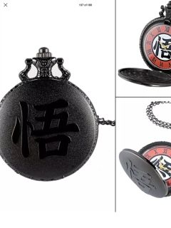 Dragon ball new pocket watch on neck chain unisex can be converted to pocket watch