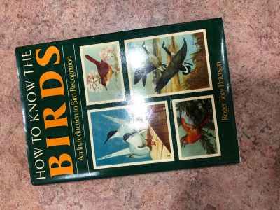 Hardback book how to know the birds introduction to bird recognition (cdb)