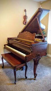 Restored Century Old Art Case Piano