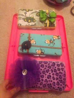 New travel wipies cases $10