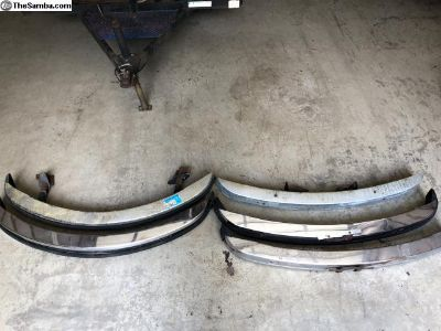 1974-79 Type 1 Beetle Front/Rear Bumpers