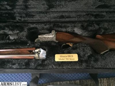 "For Sale: For Sale or Trade :Ithaca SKB 700 Trap gun O/U 12 Gauge, 2 3/4 Chamber 26"" barrel"