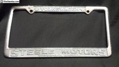 [WTB] Steele motors Wisconsin Rapids WI dealer frame