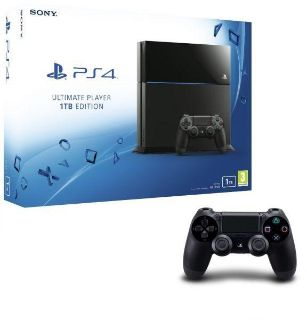 PlayStation 4 1TB with games and accessories