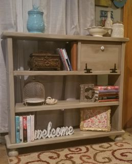 Solid Wood Bookcase/Shelf
