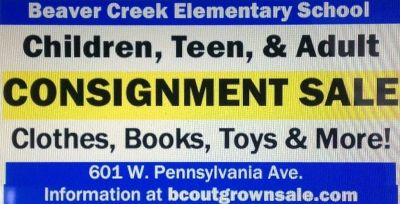 NOVEMBER 8, 2014 DOWNINGTOWN BEAVER CREEK CONSIGNMENT SALE