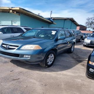 2005 Acura MDX Touring (Blue)