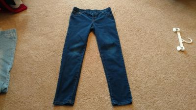 Cat and Jack elastic waist jeans size 16