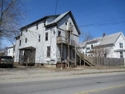 10 Bed 4 Bath Foreclosure Property in Waterville, ME 04901 - Water St