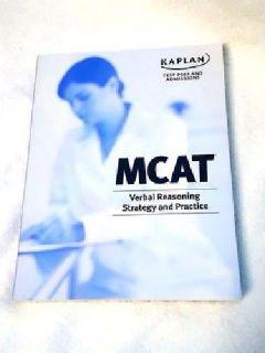 $10 OBO Kaplan MCAT Verbal Reasoning