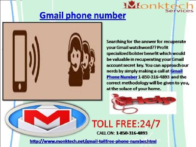 What To Do To Get Toll- free 1-850-316-4893 Gmail Phone Number ?
