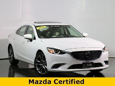 2016 Mazda Mazda6 i Grand Touring (Snowflake White Pearl Mica)