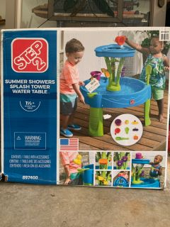 Brand new water table