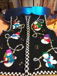 Adorable / ugly sweater vest