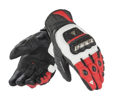 Purchase Dainese 4 Stroke Evo Mens Leather Gloves Red/White/Black motorcycle in Holland, Michigan, United States, for US $219.95