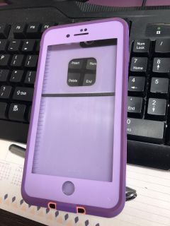 iPhone 8plus life proof case. Like new condition