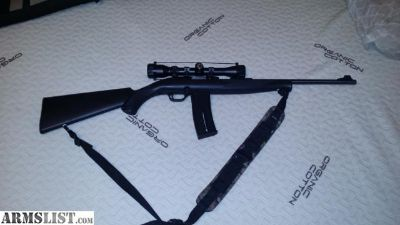 For Sale/Trade: Mossberg Plinkster .22LR with scope