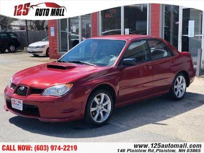 2007 Subaru Impreza WRX TR (Garnet Red Pearl)