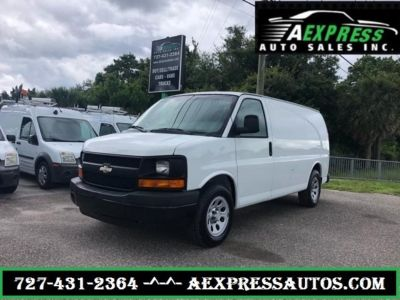 2010 Chevrolet Express 1500 1500 (White)