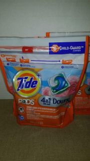 $3 each tide pods with downy 12 pods