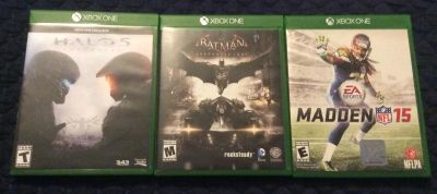 XBOX ONE Titles - Mint condition w/cases
