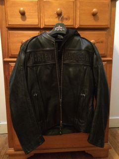 Harley Motorcycle leather jacket worn once