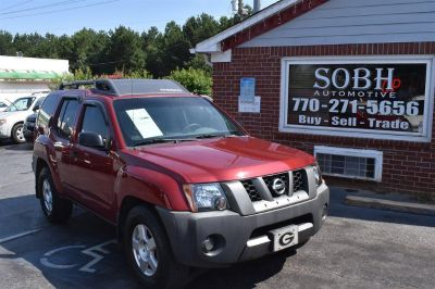 2008 Nissan Xterra S (Red)