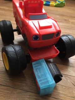 Blaze and the monster machines remote truck