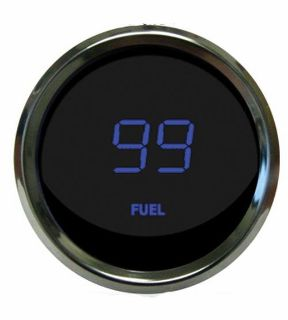 Find Universal Digital Fuel Level Gauge Blue Chrome Bezel Intellitronix MS9016-B USA motorcycle in North Olmsted, Ohio, US, for US $49.45