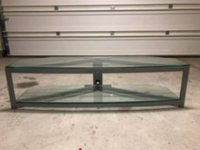 Glass TV Stand for Flat Screen