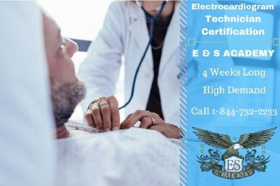 EKG Technician in just 4 weeks ! Sign up now
