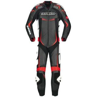 Find Spidi Track Wind Pro Leather 1-pcTracksuit Black/Red motorcycle in Holland, Michigan, US, for US $1,299.95