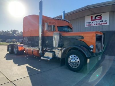 2001 Peterbilt 379 - NEW PLAT REBUILD BY CAT (Orange)