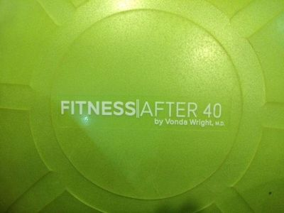 Fitness After 40 Exercise Ball