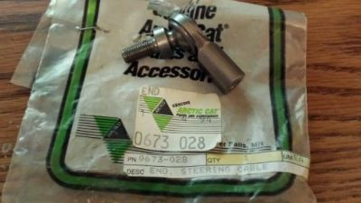 Buy NOS Arctic Cat 0673-028 Steering End Tigershark Montego Monte Barracuda motorcycle in Minneapolis, Minnesota, United States, for US $12.95