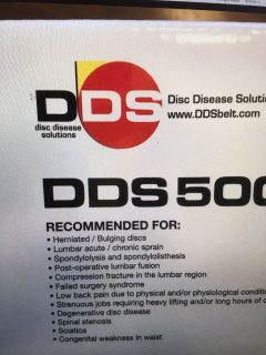 Disc disease solutions dds500