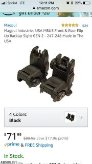 For Sale: Brand new set of Magpul sights