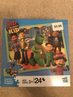 Sid the Science Kid Puzzle