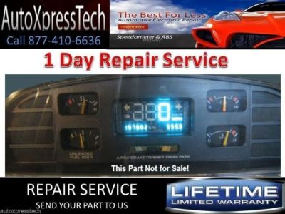 Find Chevy Caprice Digital Insturment Cluster Repair rebuild restore Impala classic motorcycle in Brockton, Massachusetts, United States, for US $113.99