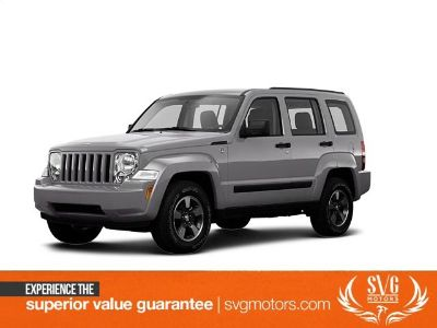 2008 Jeep Liberty Sport (Bright Silver Metallic Clearcoat)