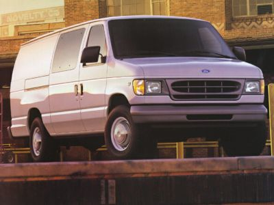 2001 Ford E-350SD Standard (Oxford White Clearcoat)