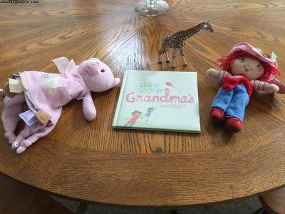 Strawberry Shortcake Doll, Book, Blankie,etc