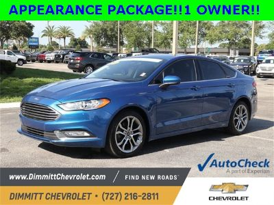 2017 Ford Fusion S (Lightning Blue)