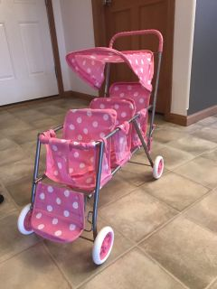 3 seat baby doll stroller