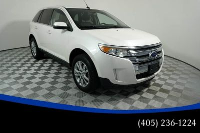 2014 Ford Edge Limited (white)