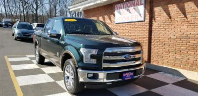 2015 Ford F-150 4WD SuperCrew King Ranch (Green Gem Metallic)