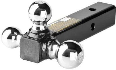 Buy TRIPLE BALL TRAILER HITCH MOUNT RECEIVER-1-7/8,2,2-5/16 (RHBM-3) motorcycle in West Bend, Wisconsin, US, for US $36.35