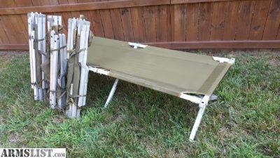 For Sale: USGI Military Folding Aluminum Cot