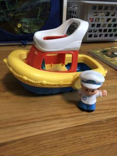 Little People Boat and Captain